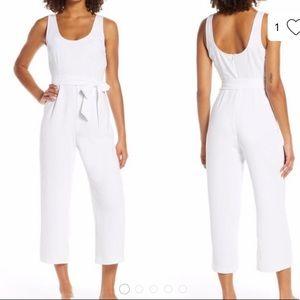 New BB Dakota White Jumpsuit